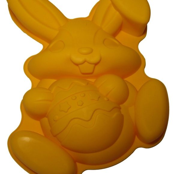 CMSHOME Other - Silicone Easter Bunny Rabbit Cake Dessert Pan Mold